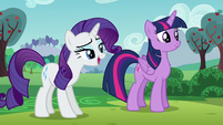 "Rarity ""...in order to do our best work"" S5E24"