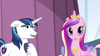 Shining Armor relieved S6E1