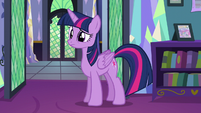 Twilight listens to Spike S5E12