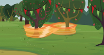 Applejack figure eights trees S3E8