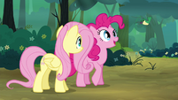 "Pinkie Pie ""What's he saying?"" S4E18"
