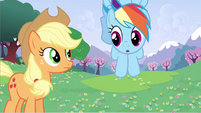 Rainbow Dash is she serious S2E25