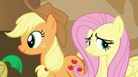 Fluttershy 'There doesn't seem to be anything...'