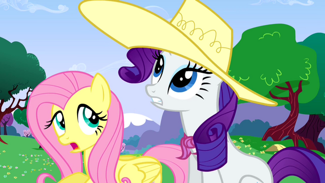 File:Fluttershy and Rarity enjoy the weather S02E25.png
