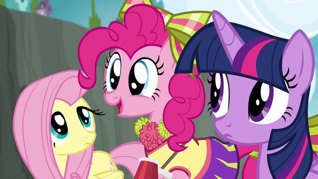 "File:Pinkie Pie ""Where can I get pompoms like those?"" S4E10.png"