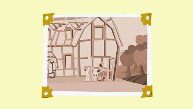 File:Some of the apple family in front of the barn S3E8.png