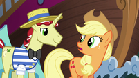 "Applejack ""hope you two know what you're doin'"" S6E20"