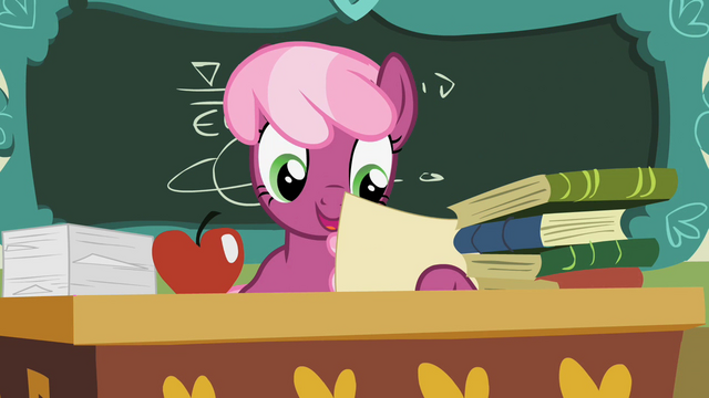 File:Cheerilee looking at paper S2E12.png