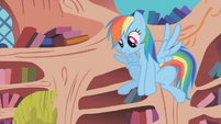 "Rainbow Dash ""give him the boot!"" S1E07"
