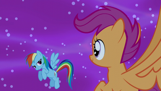 File:Rainbow gives Scootaloo a look of approval S5E13.png