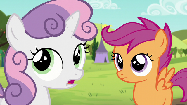 "File:Sweetie ""I thought Apple Bloom was gonna be here too"" S5E17.png"