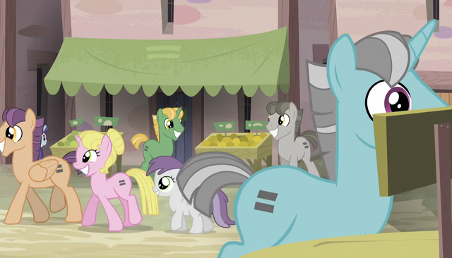 File:Everypony with equals sign cutie marks S5E1.png