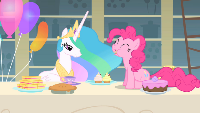 File:Pinkie Pie munching on a cupcake S1E22.png