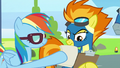 Rainbow giving Spitfire checklists S6E7.png