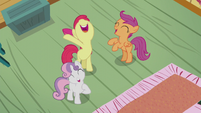 "CMC sings ""The ultimate reward..."" S5E18"