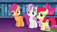 Cutie Mark Crusaders have a realization S6E19