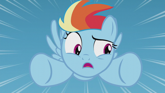 """File:Filly Rainbow Dash """"I can't do that!"""" S5E25.png"""