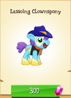 File:Lassoing Clownspony MLP Gameloft.png