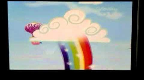MLP FiM Tesco Rainbow Dash Trailer