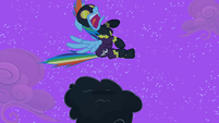 Rainbow Dash gets startled S2E04
