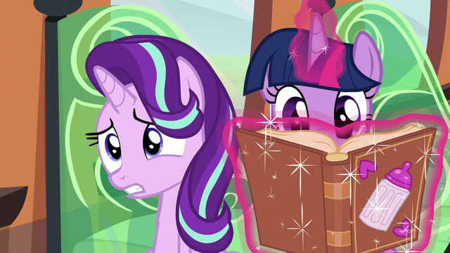 File:Starlight worries while Twilight continues reading S6E1.png