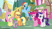 Twilight's friends offer her company S4E25