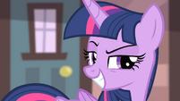 Twilight's grin S4E08