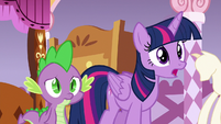 "Twilight Sparkle ""Spike and I were wondering"" S6E22"