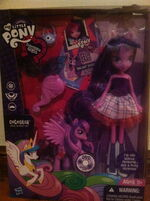 Incorrect packaging for an EG Twilight Doll and Pony set