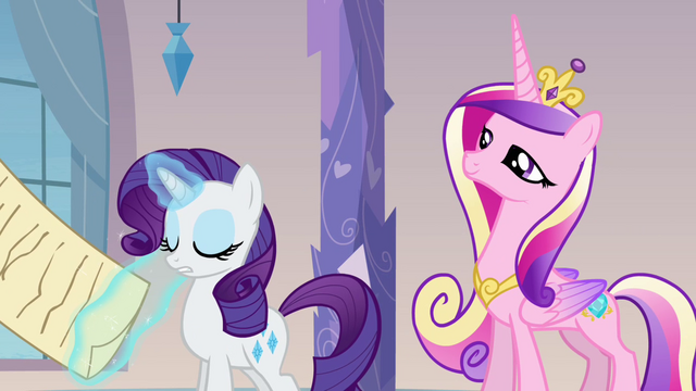 "File:Rarity and Cadance ""done"" S03E12.png"