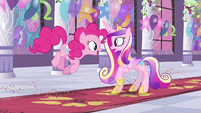 Princess Cadance freaking out S2E25