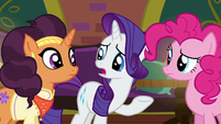"Rarity ""quite a bit of work that needs to get done"" S6E12"