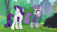 Rarity covering her mouth S6E3