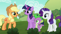 """Applejack """"so used to doin' everythin' a certain way"""" S6E10"""