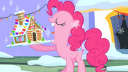 Pinkie Pie about to eat S2E11