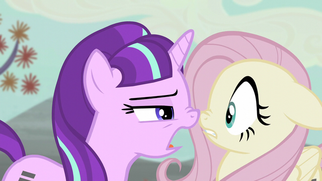 File:Starlight wants Fluttershy to tell names of dissatisfied friends S5E02.png