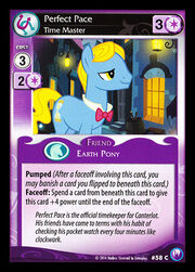 Perfect Pace, Time Master card MLP CCG
