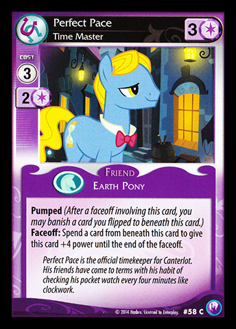 File:Perfect Pace, Time Master card MLP CCG.jpg