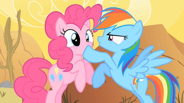 File:Rainbow Dash Shushing Pinkie Pie 2 S1E21.png