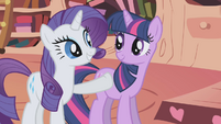 "Rarity ""allow us to treat you to dinner"" S1E03"