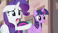 "Rarity ""what in the name of Equestria is that?!"" S5E1"