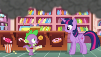"Spike ""we've gotta go talk to Applejack"" S6E22"