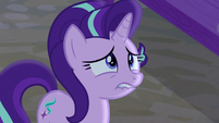 Starlight Glimmer biting her lip with fear S6E25