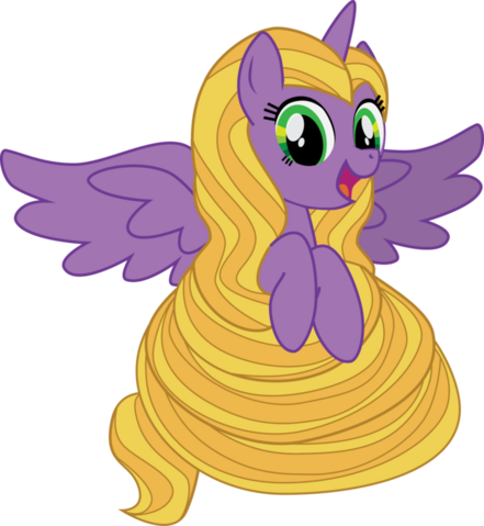 File:FANMADE Rapunzel As Pony.png