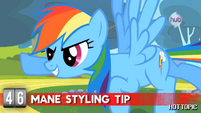 "Hot Minute with Rainbow Dash ""just fly through some clouds"""