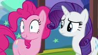 Pinkie's scrunchy face S5E19