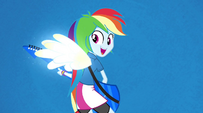 Rainbow sprouts wings during Better Than Ever EG2
