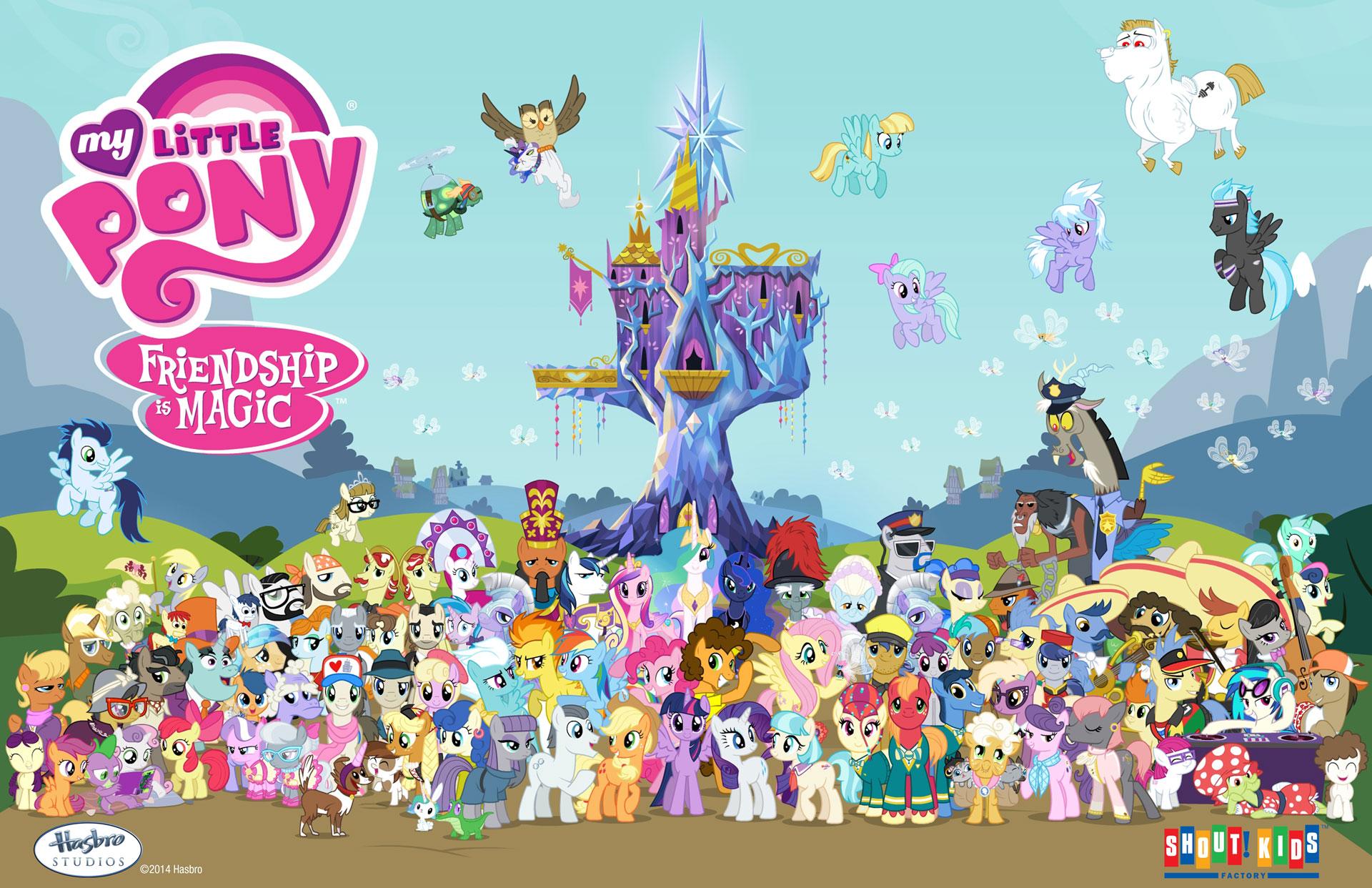 Image season 4 my little pony friendship is - My little pony wikia ...