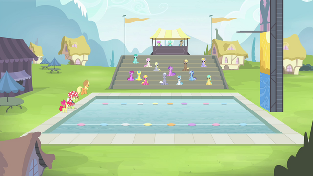 File:Applejack walking towards the seats S4E20.png