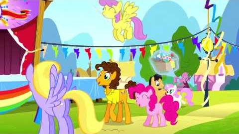 Arabic My Little Pony Pinkie The Party Planner Song - Reprise HD